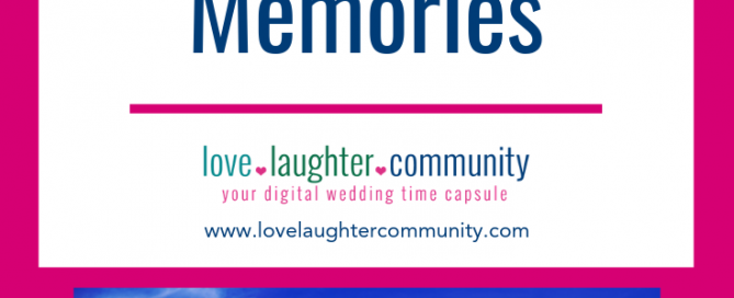New and modern options for saving wedding memories in today's world.