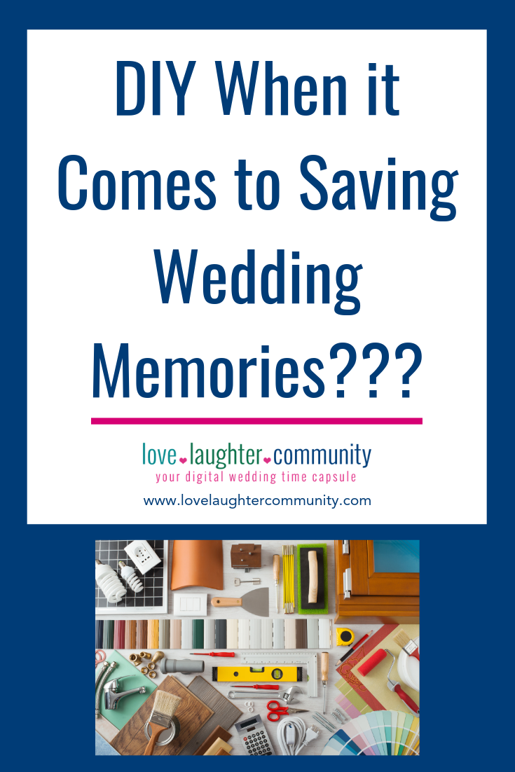 A wedding memory that is worth saving in some way.