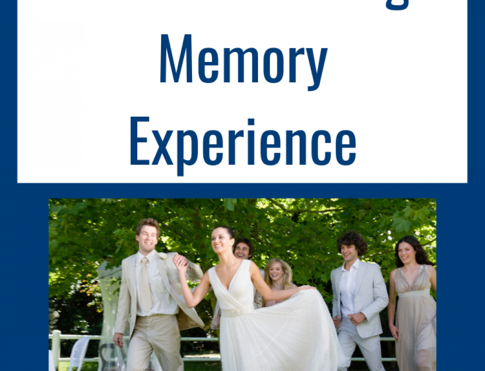 Guaranteeing a Better Wedding Memory Experience