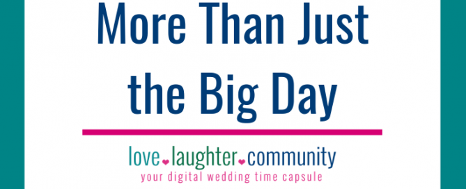 Wedding celebration memories can happen from engagement through the big day.