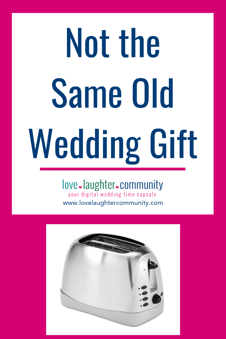 A wonderful and unique wedding gift