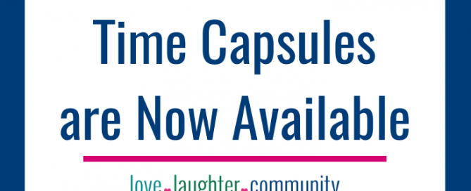 Announcing the Love + Laughter + Community Digital Wedding Time Capsule