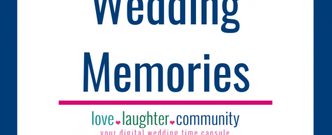 Wedding memories as a special future wedding gift to the couple