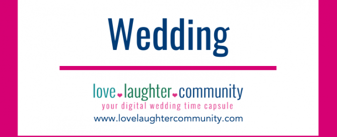 A digital wedding time capsule as a unique wedding gift