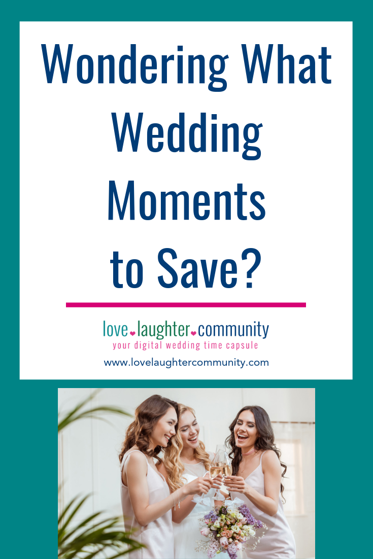 A great wedding moment that will make a great wedding memory.