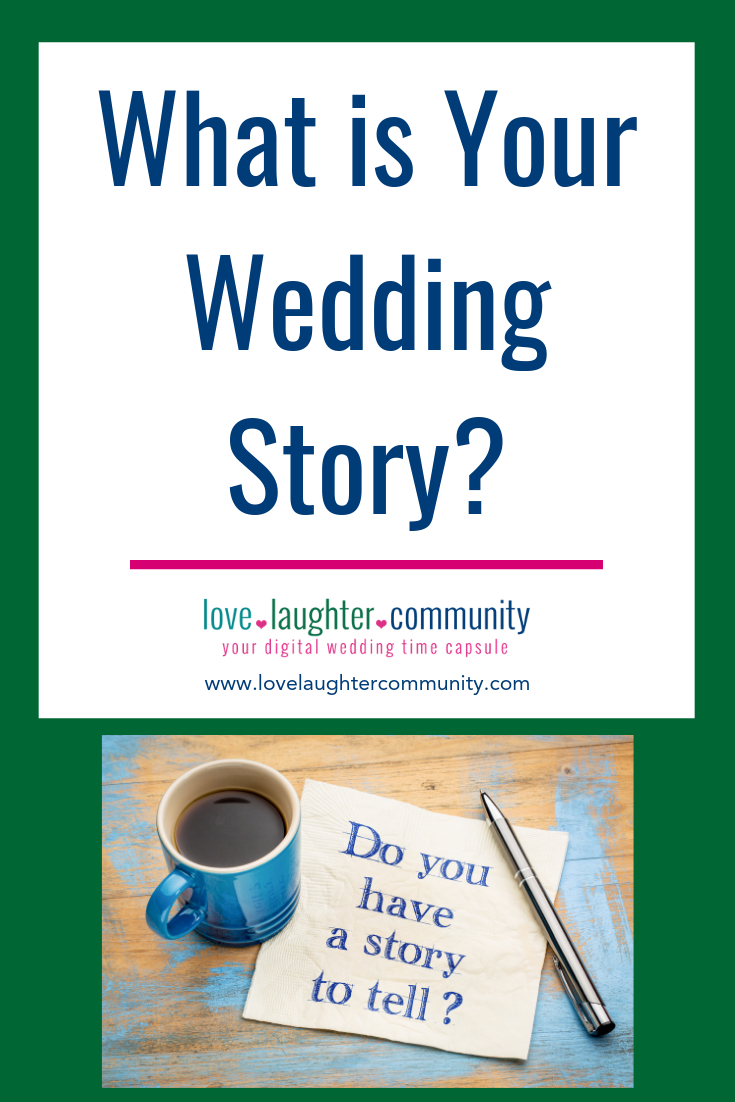 A wedding story can be told through the wedding memories that are captured and saved for the future