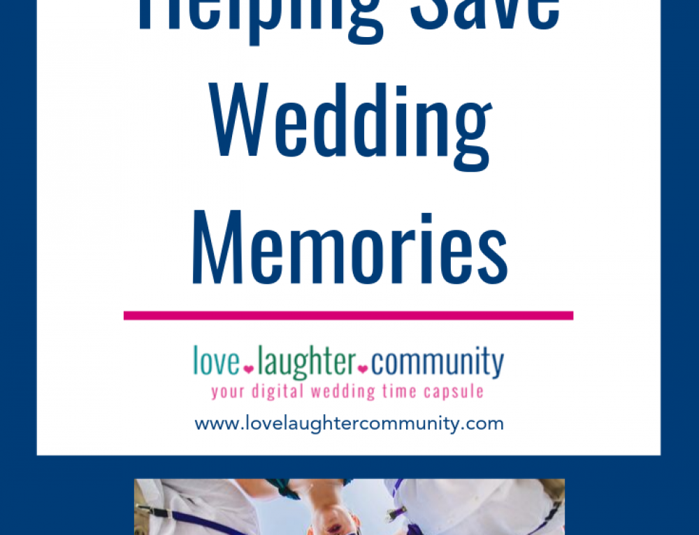 Wedding Guests Helping Save Wedding Memories